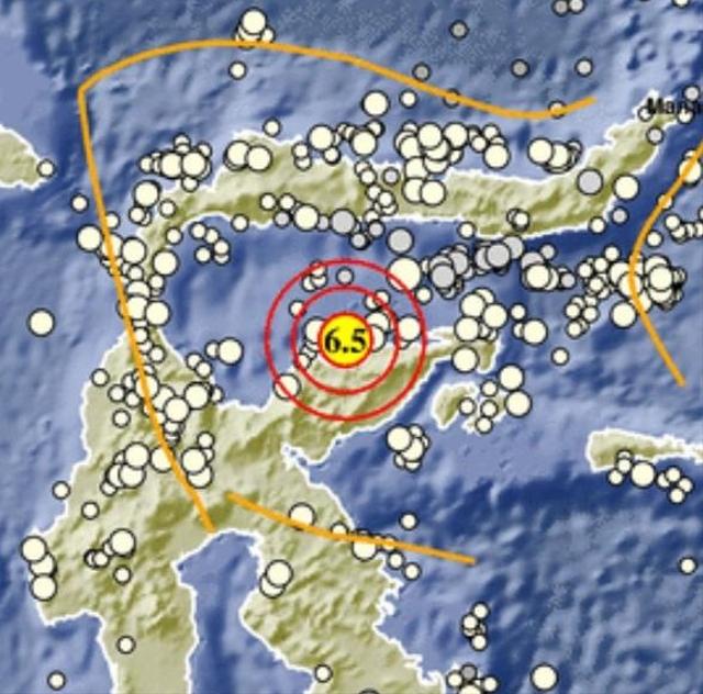 Gempa di Tojo Una-Una, 1 Warga Meninggal (414453)