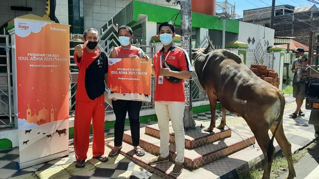Kolaborasi Kebaikan, Telkomsel Gandeng Dompet Dhuafa Salurkan Kurban (786484)