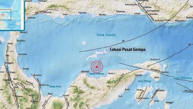 Fakta-fakta Gempa 6,3 Magnitudo di Tojo Una-Una, Sulteng  (83644)