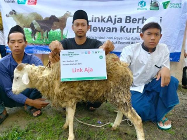 LinkAja Bersama Dompet Dhuafa Berbagi Hewan Kurban, Menyambut Idul Adha 1442H (357692)