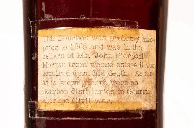 Botol Wiski Tertua di Dunia Bekas Koleksi J.P Morgan Terjual Rp 2 Miliar! (114930)
