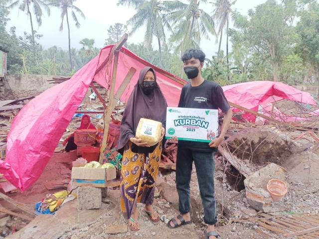 Dompet Dhuafa Sulsel Tebar Hewan Kurban Hingga Ke Wilayah Terdampak Bencana Alam (44699)