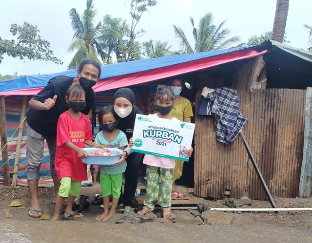 Dompet Dhuafa Sulsel Tebar Hewan Kurban Hingga Ke Wilayah Terdampak Bencana Alam (44698)