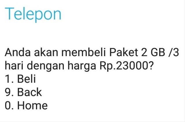Kode Paket Murah Telkomsel Terbaru dan Terlengkap (65364)
