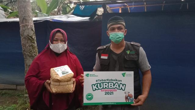 Dompet Dhuafa Sulsel Tebar Hewan Kurban Hingga Ke Wilayah Terdampak Bencana Alam (44700)