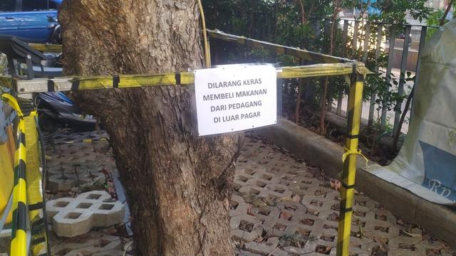 Viral Pasien Isoman di Hotel Daan Mogot Beli Bakso Keliling (56079)