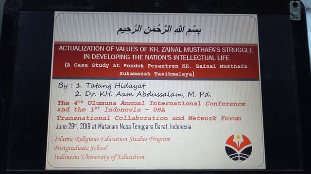 Mengenalkan Asy-Syahid KH. Zainal Musthafa di Mataram NTB, Indonesia (168663)