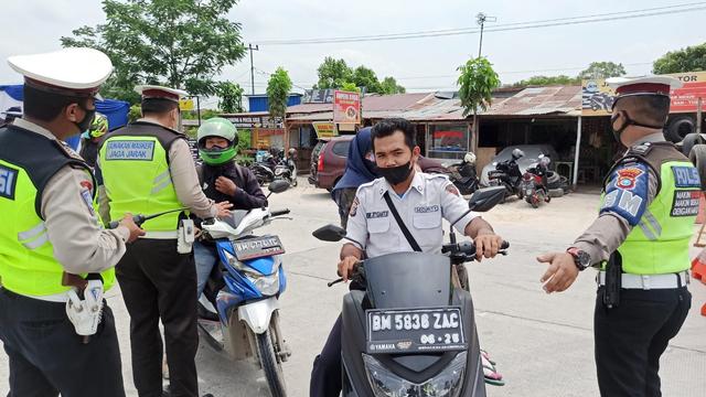 14 Orang Reaktif Selama 3 Hari Pemberlakuan PPKM Level 4 di Pekanbaru   (140785)
