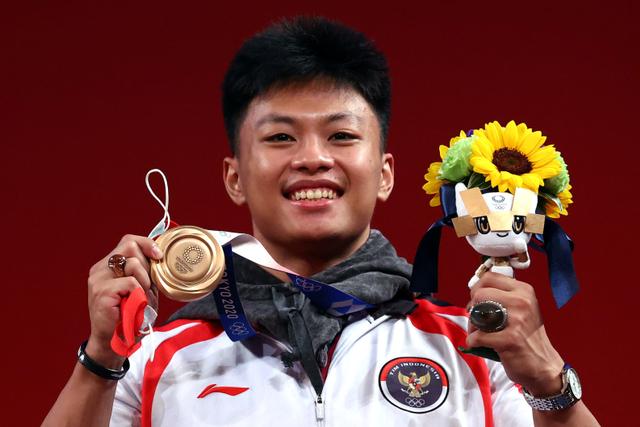 Update Klasemen Medali Olimpiade 2020: Jepang di Puncak, RI ke-39 (62456)