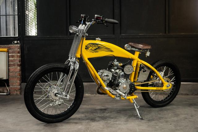 Intip Motor Kustom Pesanan Kasetpres Jokowi, Beraliran Lowrider (84732)