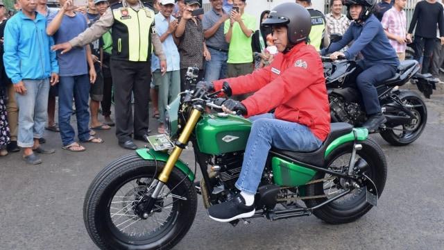 Intip Motor Kustom Pesanan Kasetpres Jokowi, Beraliran Lowrider (84729)