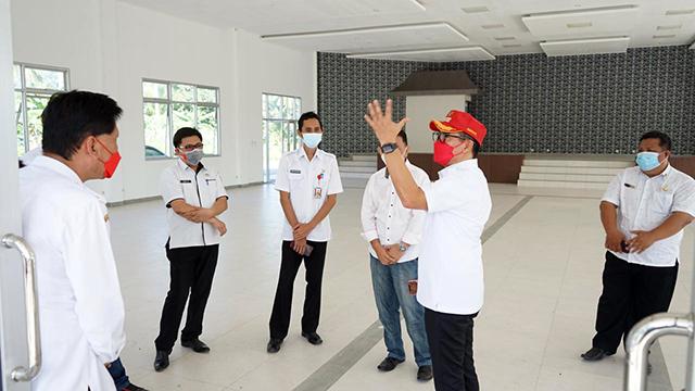 Pemkab Minut Siapkan Gedung untuk Warga yang Ingin Isolasi Mandiri (60086)