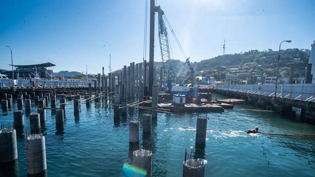 Foto: Melihat Proyek Pelabuhan Bongkar Muat Logistik di Labuan Bajo (59456)