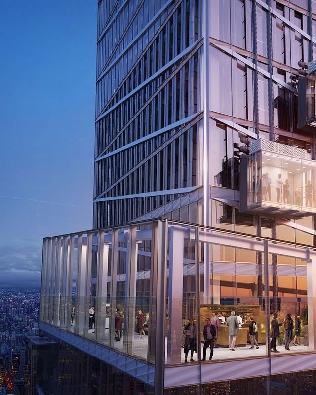 New York Hadirkan Atraksi Wisata Baru, Lift Kaca Transparan Setinggi 368,8 Meter (94752)