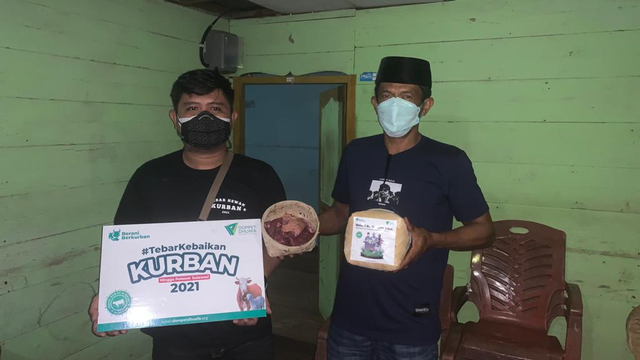 5000 Warga Telah Merasakan Manfaat Kurban Melalui THK Dompet Dhuafa Sulsel 2021 (401054)