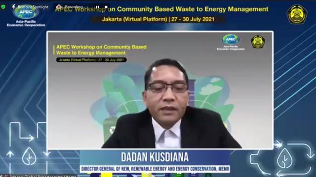Kementerian ESDM Gelar Workshop APEC Pengelolaan Sampah Berbasis Komunitas  (341679)