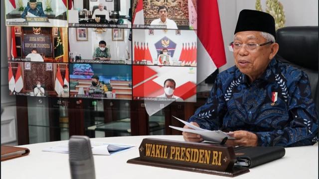 Ma'ruf Amin Minta Vaksinasi di Bali Dipercepat: Untuk Yakinkan Wisatawan (292706)
