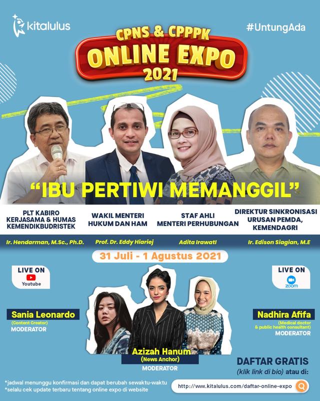 KitaLulus Gelar CPNS & CPPPK Online Expo 2021 Bersama Kementerian (812090)