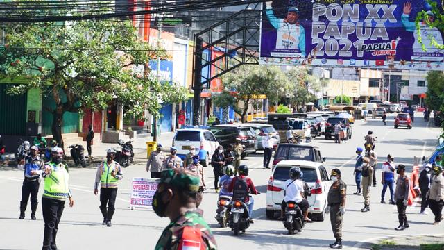 Operasi Yustisi di Kota Jayapura, 6 Orang Positif COVID-19 (783400)