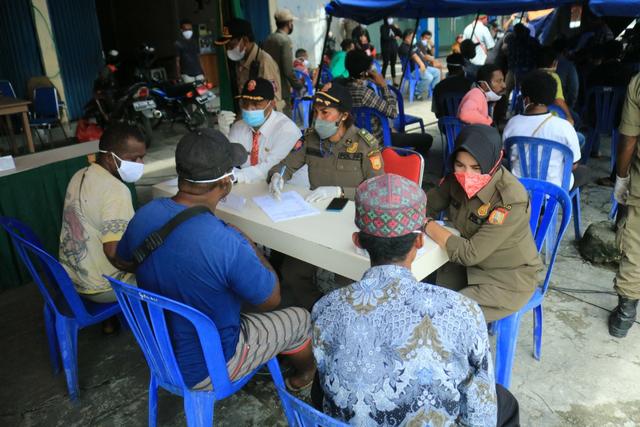 Operasi Yustisi di Kota Jayapura, 6 Orang Positif COVID-19 (783401)