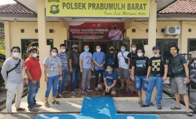 Kurang dari 24 Jam, Polisi Tangkap Pembunuh Plt Kepala BPBD Merangin (14581)