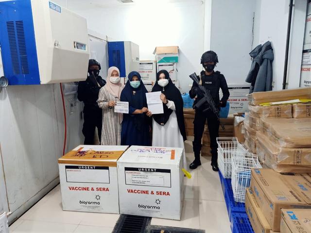 Stok Vaksin Corona di Aceh Sempat Kosong, Kemenkes Kirim 38.800 Dosis Sinovac (94499)
