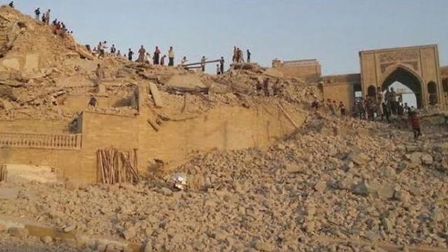 Temuan Istana Kuno di Bawah Makam Nabi Yunus dan Fakta Sejarah di Baliknya (472705)