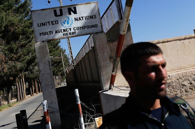 Kompleks PBB di Afghanistan Diserang, Seorang Polisi Tewas (321601)