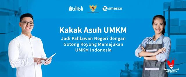 Cara E-commerce Marketplace Blibli Optimasi Jualan Produk UMKM (1157744)