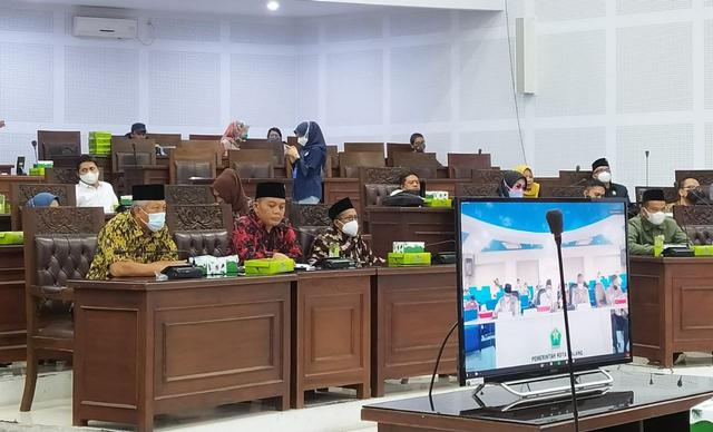 Tangani COVID-19, DPRD Kota Malang Usulkan Pangkas Anggaran Makanan Minuman OPD (17915)