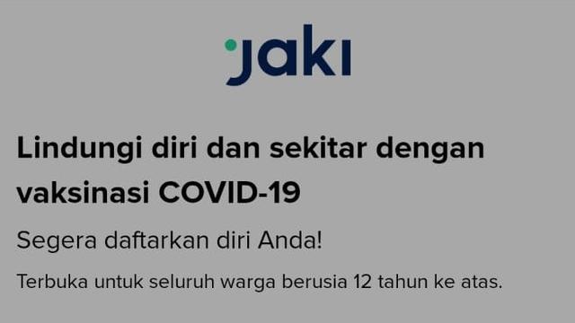 Cek Status Vaksinasi di Jakarta Kini Juga Bisa Lewat Aplikasi JAKI (24014)
