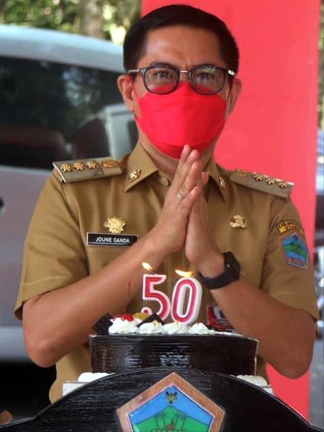 Selamat Ulang Tahun ke-50 Bupati Minut, Joune Ganda (132941)