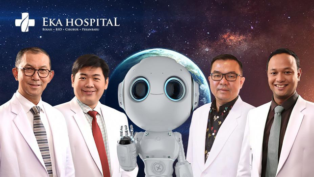 Revolusi Teknologi Kedokteran RI, Operasi Skoliosis Eka Hospital Gunakan Robot (21574)