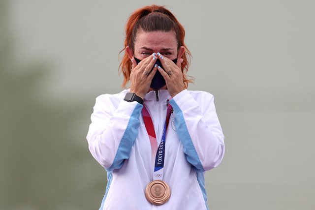 10 Momen Viral Olimpiade 2020: Fair Play Ahsan hingga Ganti Raket Greysia Polii (48803)