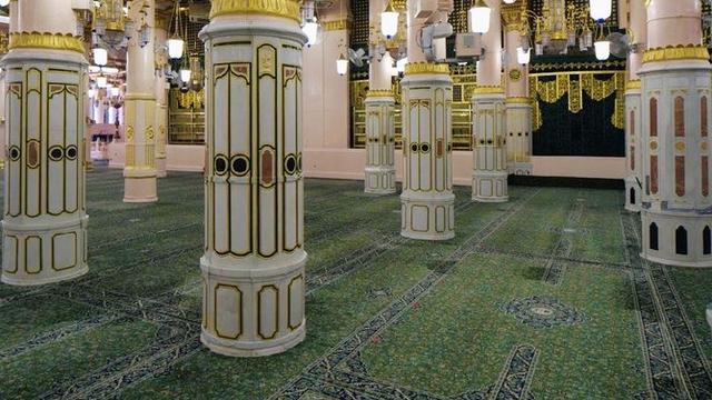 Mengintip Dekorasi Awal Masjid Nabawi Mahakarya Nabi Muhammad (169695)