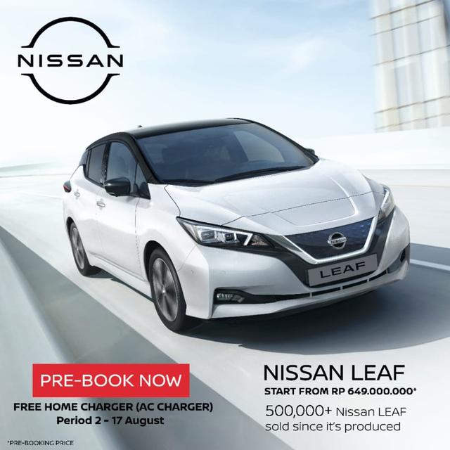 Nissan LEAF Jadi Mobil Listrik Termurah di Indonesia, Harga Mulai Rp 649 Juta (63233)