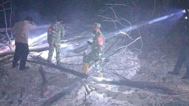 TNI di Pidie Pantau Api Lewat Aplikasi Hotspot, Temukan Kebakaran Lahan 3 Hektar (159036)