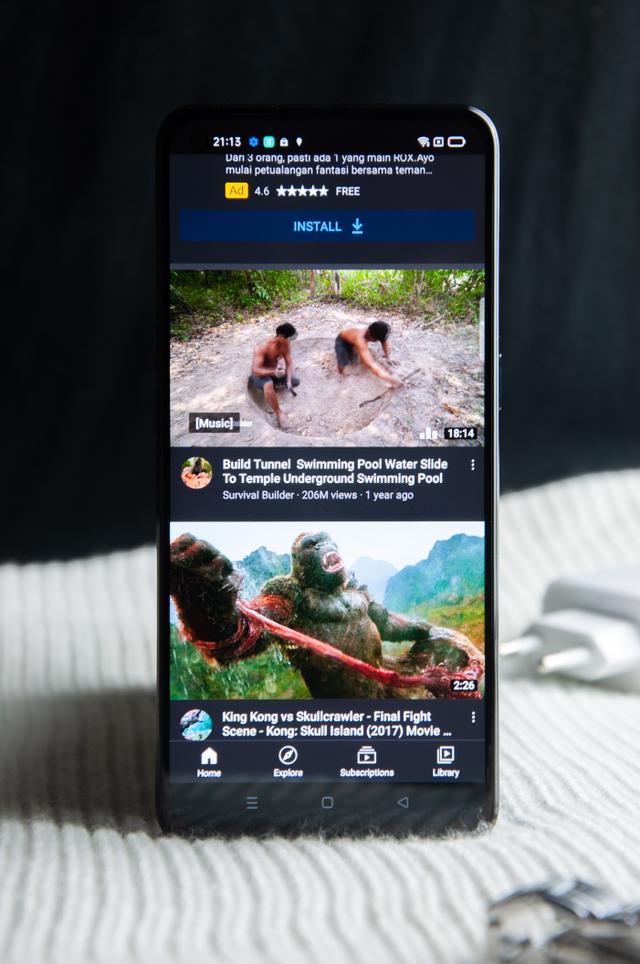 Review Oppo Reno 6: HP Rp 5 Jutaan Desain Cantik, Kamera Ciamik (60087)