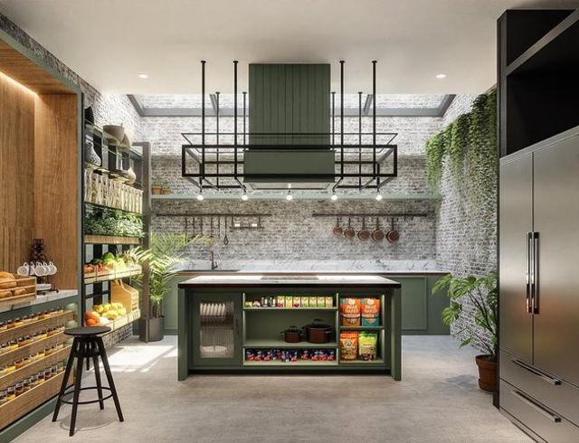 6 Potret Dapur Chef Arnorld yang Estetik Banget, Pantrinya Kayak Supermarket (68059)