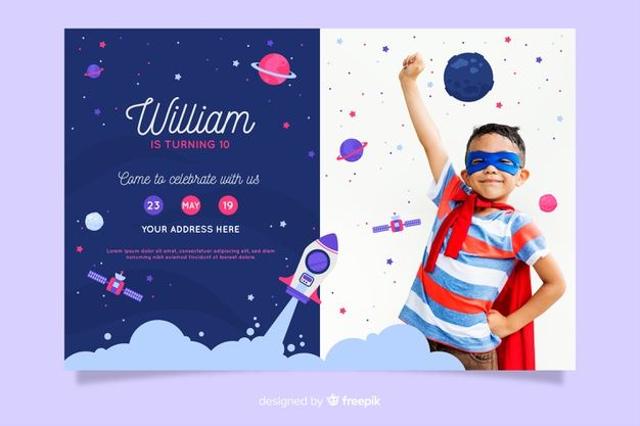 Undangan Ulang Tahun Anak, Inspirasi Desain yang Menarik dan Unik (66960)