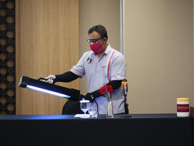 Demi Keamanan Tamu, favehotel Sidoarjo Disinfektan Seluruh Ruang Pertemuan (340933)