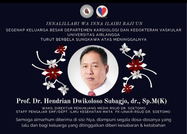 Wakil Direktur Penunjang Medik RSUD Dr Soetomo Meninggal Dunia Akibat COVID-19 (349752)