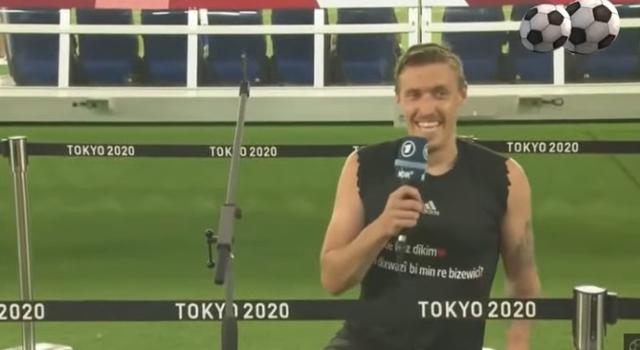 So Sweet, Pesepak Bola Lamar Kekasih Usai Raih Kemenangan di Olimpiade Tokyo   (469852)