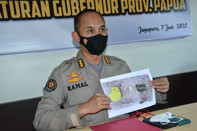 KKB Kopengga Enumbi, Pelaku Perampasan 8 Senjata Api Tewas Tertembak (42016)