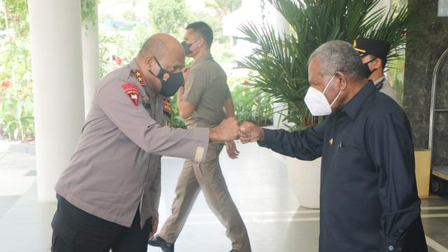 Kapolda Papua: Waspada Surat Swab Palsu di Tengah PPKM Level 4 (391504)