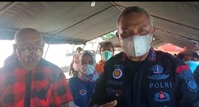 Beredar Informasi Hoaks soal Dapur Umum, Ini Kata Dansat Brimob Papua Barat (653320)