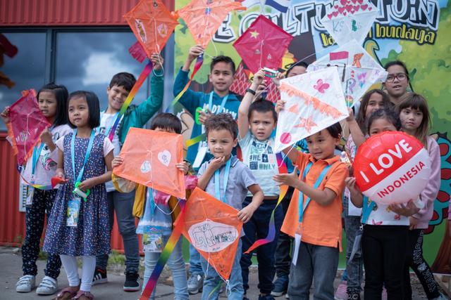 Antusiasme Anak Diaspora Indonesia di Belanda Ikut Workshop De Cultuurtuin (140160)