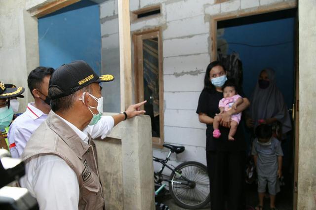 Kunjungi Sukabumi, Muhadjir Masih Temukan Warga Kurang Mampu Tak Dapat Bansos (138062)