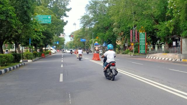 PPKM Level 4 di Solo Diperpanjang, Jadwal Penutupan Jalan Protokol Diubah (587278)