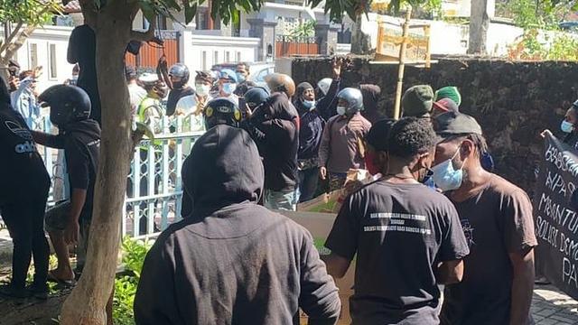 Polda Bali Dalami Laporan Dugaan Makar LBH Bali dan 4 Mahasiswa Papua (876445)